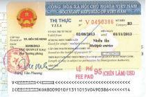 Thủ tục cấp thị thực, gia hạn tạm trú, cấp thẻ tạm trú cho người nước ngoài tại Việt Nam