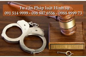 Dịch vụ tư vấn pháp luật hình sự