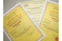 Thời hạn của giấy chứng nhận an toàn vệ sinh thực phẩm